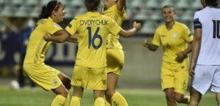 Жіноча збірна України здобула розгромний виграш у відборі на Євро-2022