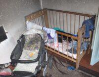 На Хмельниччині під час пожежі загинуло немовля, двох дітей врятували