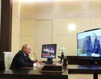 Путін заявив, що Росія «вперше у новітній історії володіє найкращою зброєю»