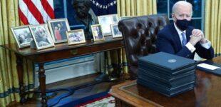 Joe Biden: So räumte der neue Präsident das Oval Office um