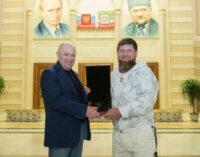 Кадыров опубликовал фото с Пригожиным и потребовал от ФБР $250 000