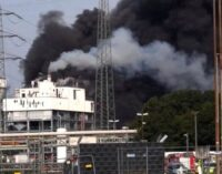 Leverkusen: Schwere Explosion im Chempark — Video