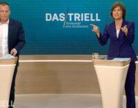 Oliver Köhr und Maybrit Illner: Moderation beim Triell in ARD und ZDF