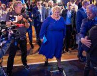 Norwegen: Ministerpräsidentin Erna Solberg räumt Wahlniederlage ein